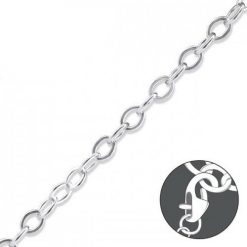 Cherry Amore - 21cm Sterling Silver Linked Chain Charm Necklace