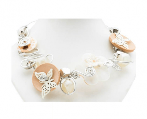 Cherry Amore - Butterfly Choker with pearl