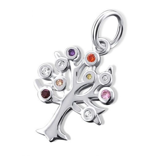 Cherry Amore - Sterling Silver Tree Charm