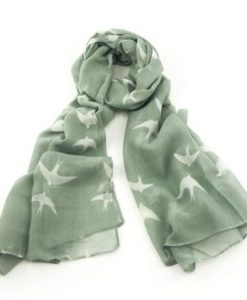 Cherry Amore - All Over Dove Print Scarf