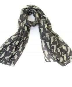 Cherry Amore - Tom Cat Print Scarf