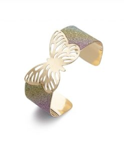 Cherry Amore - Glittery Butterfly Bangle