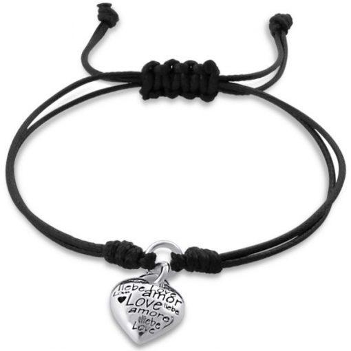 Cherry Amore - Sterling Silver Charm Bracelet