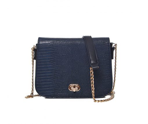 Blue Croc Bag - Cherry Amore